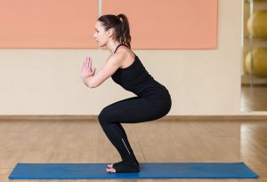 this asana strengthens the muscles which are going to be