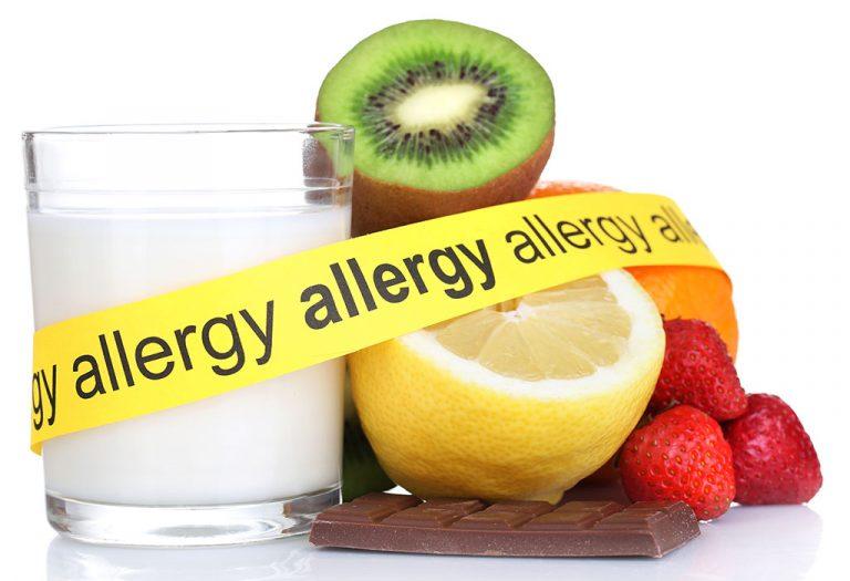 खाद्य पदार्थों से ऐलर्जी