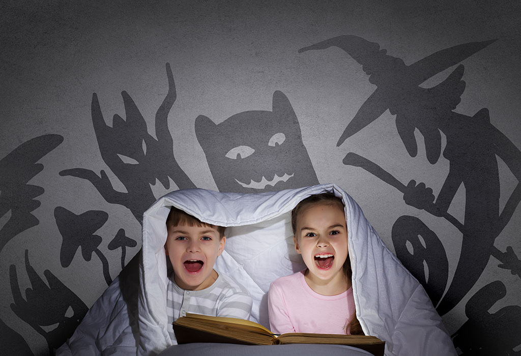 Top 23 Scary Stories to Tell your Children