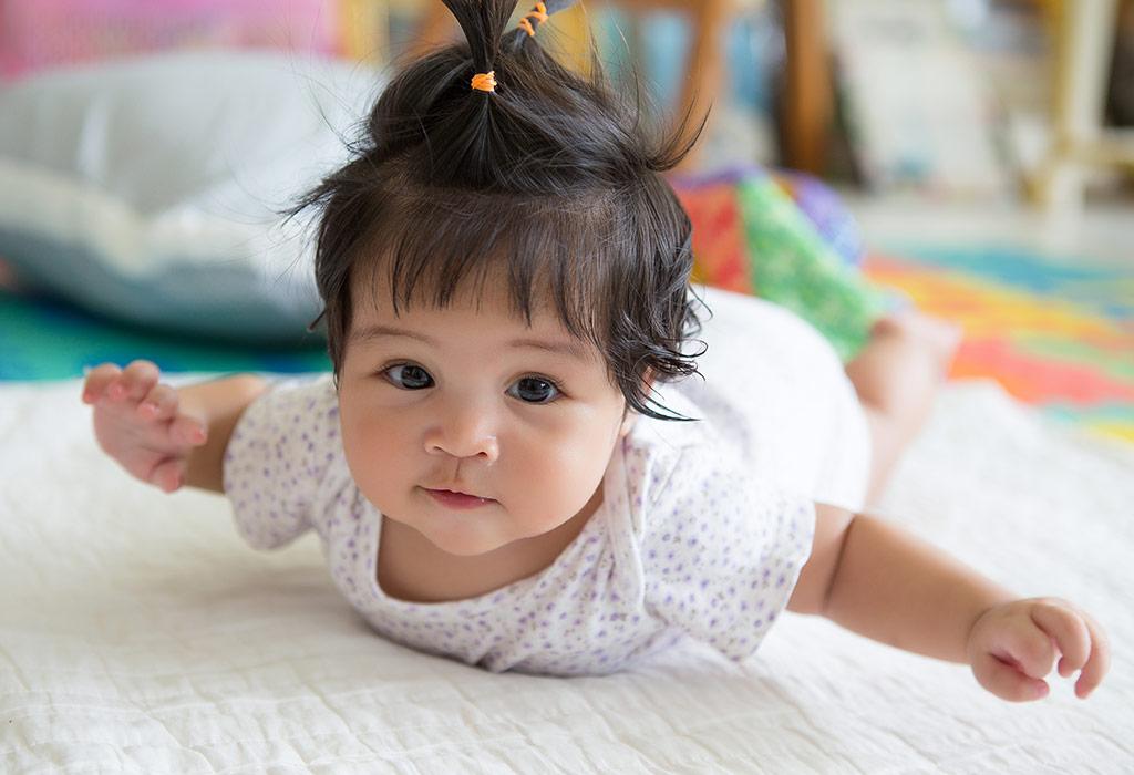 तुमचे बाळ जर पोटावर वळू लागले तर ते तुमच्यासाठी काळजीचे कारण आहे का?