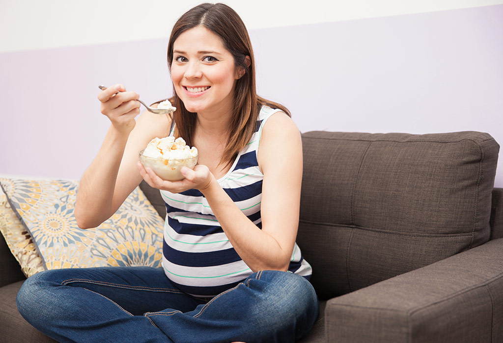 Eating Ice Cream In Pregnancy Benefits Risks Myths