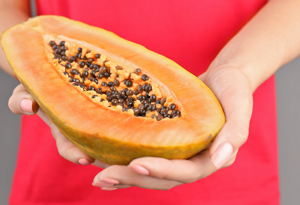 Eating Papaya in Pregnancy – Benefits, Risks & more