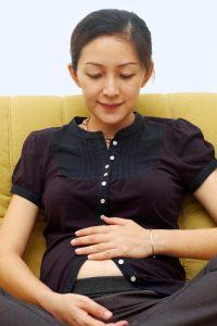 Belly at 17 Weeks of Pregnancy