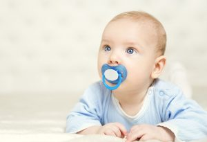 Sugar water pacifier