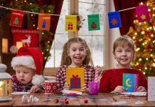 20 Fun Christmas Art & Crafts Activities for Kids