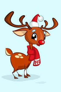 Pin the Red Nose on Rudolph