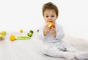 Solid food for babies