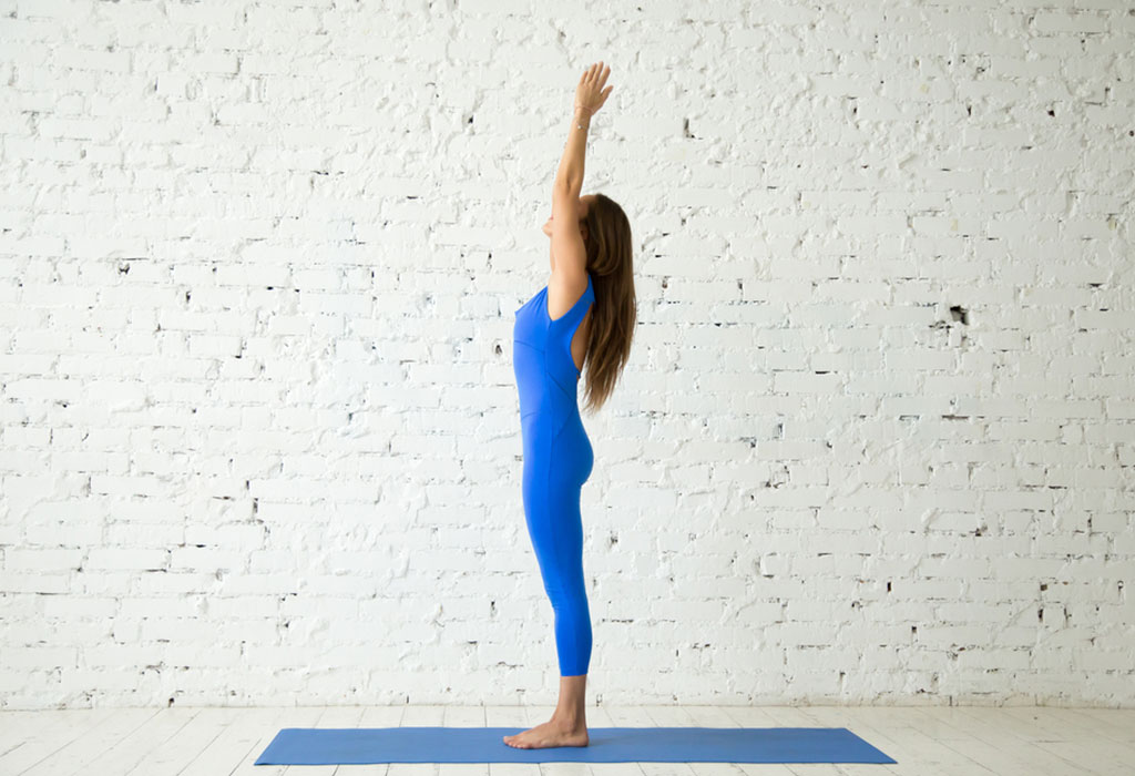 Tadasana or Palm Tree Pose