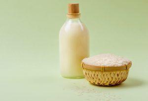 Milk and rice