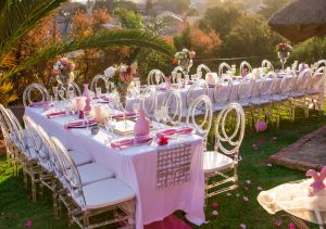 Baby Shower Outdoors