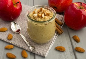 Apple almond puree
