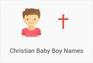 Christian Baby Boy Names