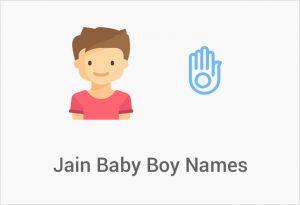 Jain Baby Boy Names