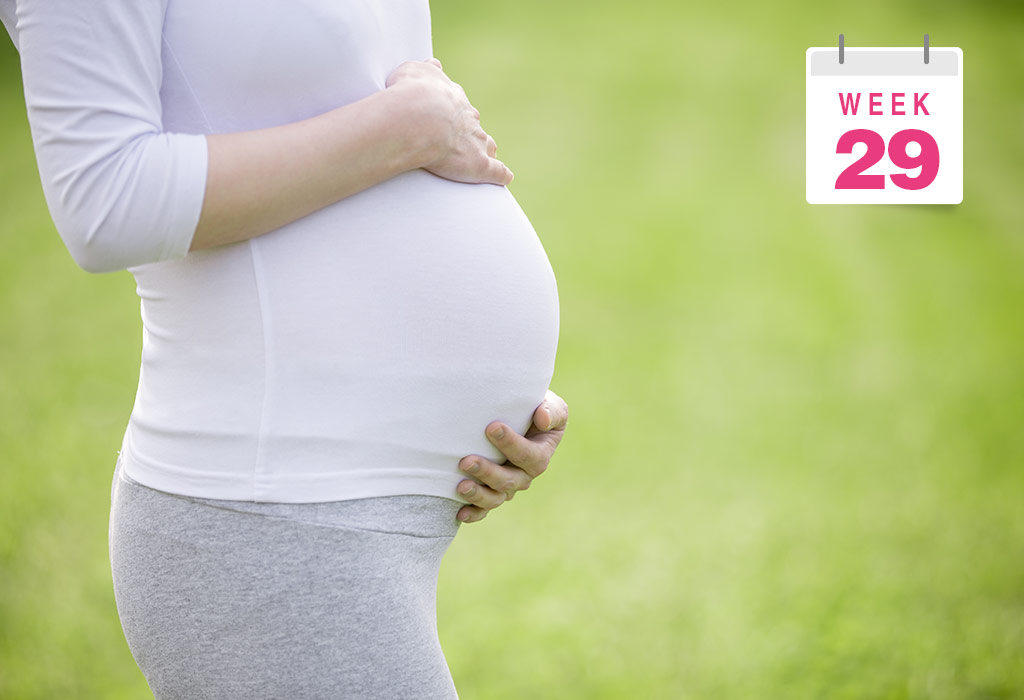 29 Weeks Pregnant Symptoms Baby Size Body Changes More