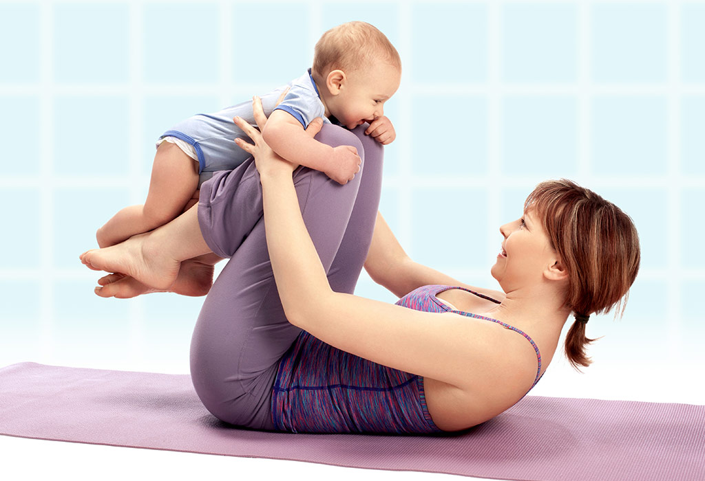 Exercise to lose stomach fat after c section