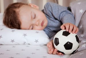 Allow your child to sleep during an attack