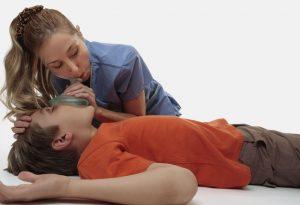 unconcious child