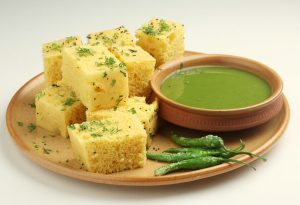 Steam Dhokla