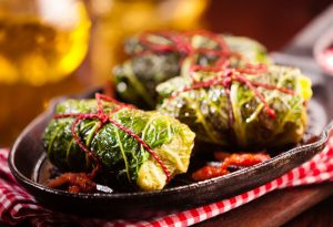 Chinese Cabbage Parcels