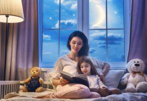 Read bedtime stories to children