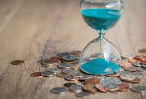 Coins and timer
