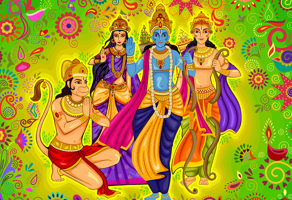 The Story of the Incarnation of Rama's Brothers