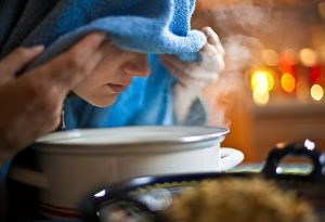 Home remedies to help alleviate your fever: Taking steam