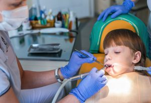 root canal of a child