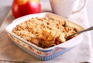Oat Apple Crumble