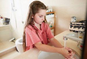 OCD for actions such as washing hands