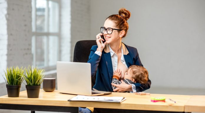 BREASTFEEDING A BABY AT WORKPLACE