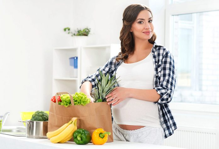 how long before conception does diet affect