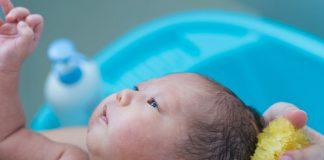 BABY SPONGE BATH