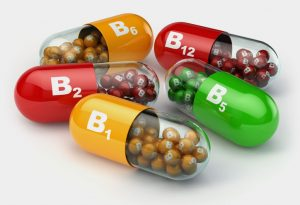Different types of vitamin tablets