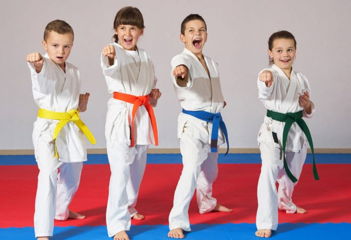 Martial Arts training for kids