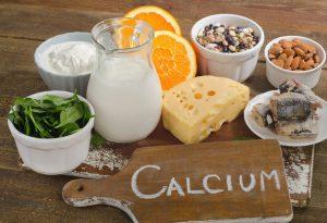 Foods rich in calcium