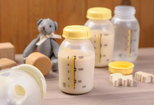 Breast milk storage