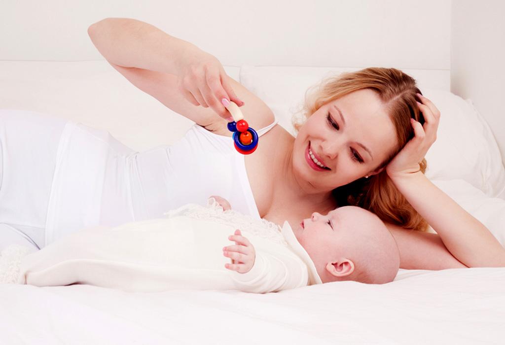 ४ महिन्यांच्या बाळाचे क्रियाकलाप