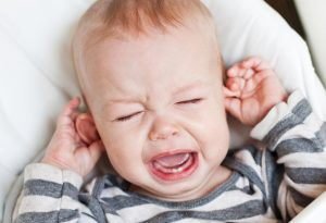 Fever due to teething