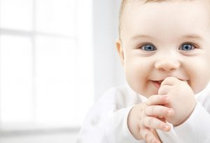 Adorable Baby Smiling Picture