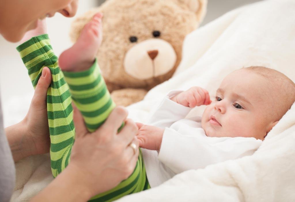 3 महीने के शिशुओं की गतिविधियां