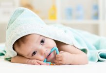 Teething fever in babies