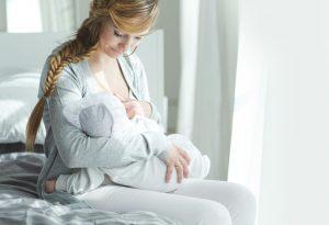 Feeding a newborn