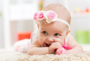 Beautiful Baby Laughing Picture