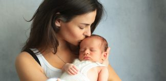 Kissing a Baby - Is It Harmful for Your Child?