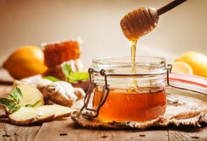 Honey ginger syrup