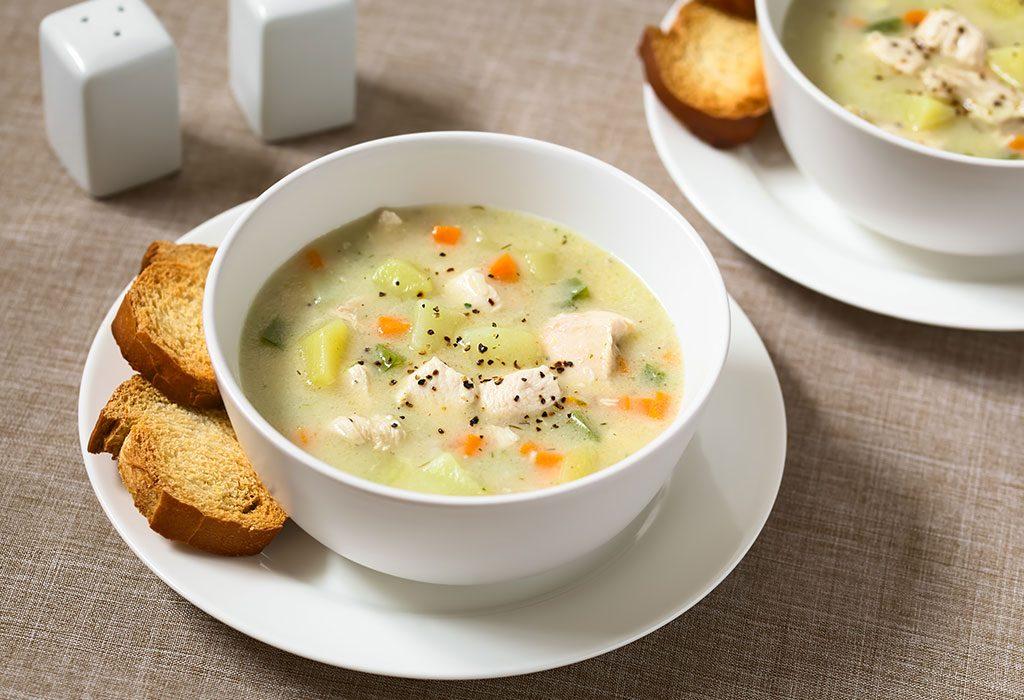 Chicken and Potato Soup