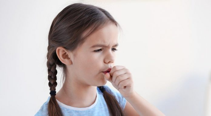 Child coughing