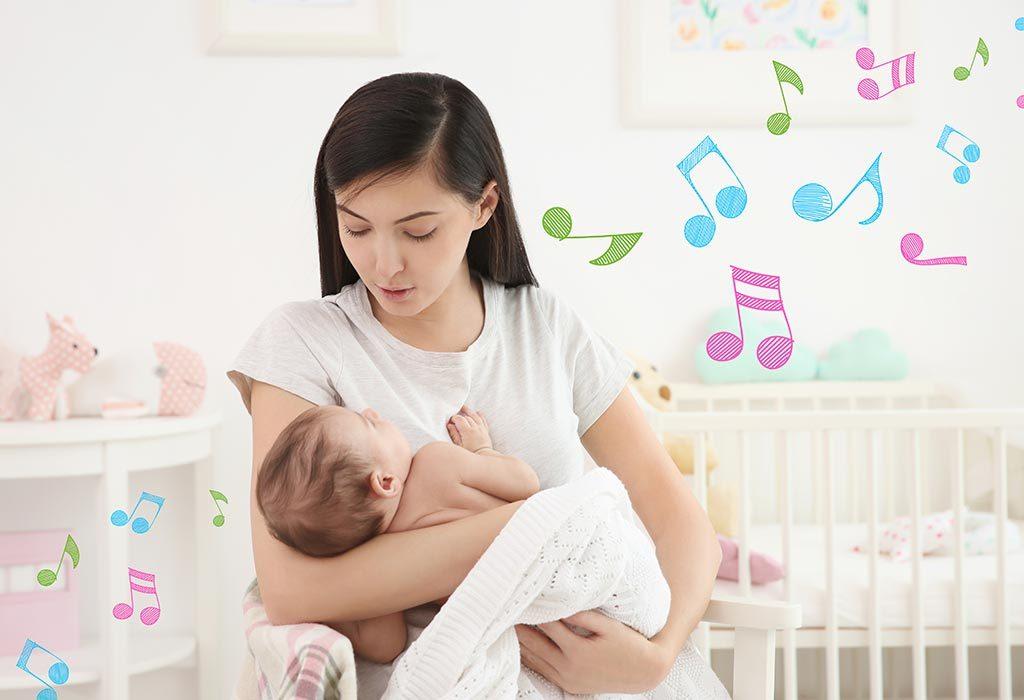 Sing to babies
