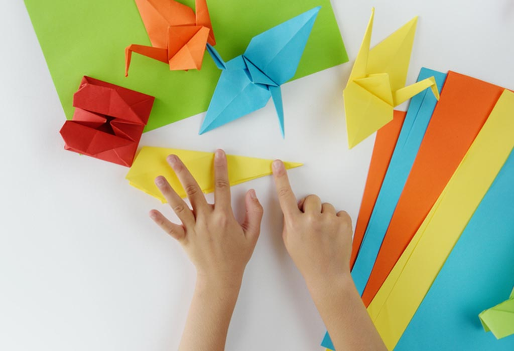 12 Grown Up Construction Paper Crafts | Origami cube, Construction ... | 700x1024